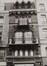 rue de l'Enseignement 11-13, détail étages, 1981