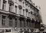 Rue du Fossé aux Loups 46-46B-48. Ancien siège de la Caisse Générale d'Épargne et de Retraite (CGER), aile Beyaert, 1986