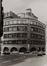 Rue du Fossé aux Loups 46-46B-48. Ancien siège de la Caisse Générale d'Épargne et de Retraite (CGER), complexe Alfred Chambon, angle rue Montagne aux Herbes Potagères, 1980