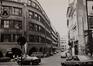 Rue du Fossé aux Loups 46-46B-48. Ancien siège de la Caisse Générale d'Épargne et de Retraite (CGER), complexe Alfred Chambon, 1986
