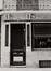 rue de la Fourche 50, détail rez., 1981