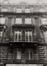 Rue Grétry 39 à 49, détail étages, 1980