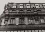 Rue Grétry 51, détail étages, 1980
