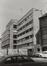 Boulevard du Jardin Botanique 36-39. Institut Saint-Louis, extensions, rue du Marais 109 à 119, 1980