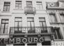 Rue de Malines 46, détail étages, 1985