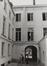 Rue du Marais 55. Hôtel de maître néoclassique, cour intérieure, 1980