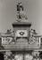 place des Martyrs. Immeubles de la place des Martyrs ainsi que le Monument aux Martyrs. Monument National ou Monument des Martyrs, détail, vue vers le nord., 1980