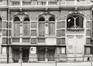rue du Moniteur 10. Ancien Bain Royal, détail rez, 1981