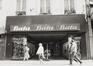 Rue Neuve 31-33, détail rez-de-chaussée, 1979