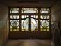 Square Ambiorix 11, demi-sous-sol, la cloison séparant hall de service et petite salle à manger., 2003