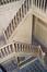 Square Ambiorix 11, vue de la cage d'escalier d'honneur depuis le premier étage., 2003