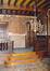 Square Ambiorix 11, rez-de-chaussée, salle à manger, vue vers la tribune., 2003