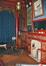Square Ambiorix 11, premier étage, salon chinois, vue vers la loggia, avec derrière la cheminée, le meuble ancien aujourd'hui disparu., 2002