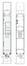 Ambiorixsquare 11, grondplan van het halve souterrain en de benedenverdieping (VAN DIJK, P., MAHER, D., MAHIEU, F., 1996-1997).