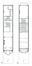 Square Ambiorix 11, plan des premier et deuxième étages (VAN DIJK, P., MAHER, D., MAHIEU, F., 1996-1997).