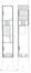 Ambiorixsquare 11, grondplan van de derde verdieping en het dak (VAN DIJK, P., MAHER, D., MAHIEU, F., 1996-1997).