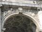 Arcade du Cinquantenaire, écoinçons ornés de bas-reliefs allégoriques, 2007