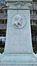 Monument Juliaan Dillens, sokkel van het monument met medaillon, 2013