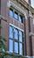 Avenue du Maelbeek 3-13, ancien Institut d'Anatomie et d'Histologie, façade côté parc, détail, 2015