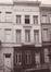 Spastraat 45, toestand voor ontpleistering van de gevel in 1984© SAB/OW 92842 (1984)