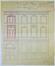 Spastraat 67, opstand en verhoging van de toegangstravee n.o.v. architect Edouard Elle© SAB/DS 22429 (1896)
