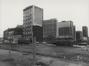 Allée Verte, vue du 7-8 et, à sa gauche, des anciens bâtiments de la Meunerie bruxelloise, années 1970-1980© AVB/FI C-24085