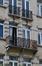 Chaussée d'Anvers 76-78, détail des étages, 2016