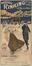 Affiche publicitaire pour la patinoire à roulettes Brussels Rinking Co'y Ltd, provisoirement établie dans le dépôt de tram du 208-210 chaussée d'Anvers, vers 1910© AVB/Affiches 816
