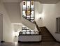 Place des Armateurs 6, cage d'escalier, premier étage, ARCHistory / APEB, 2017