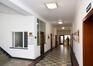 Place des Armateurs 6, premier étage, vue vers la partie droite du couloir, ARCHistory / APEB, 2017