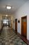 Place des Armateurs 6, premier étage, vue vers la partie gauche du couloir, ARCHistory / APEB, 2017