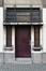 Rue de la Dyle 4, entrée piétonne, ARCHistory / APEB, 2017