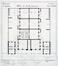 Rue de l'Éclusier Cogge 12-14, plan du rez-de-chaussée, 1869, AGR, T148, Gouvernement provincial de Brabant, Plans du Service technique des Bâtiments, inv. 6587 (1869)