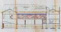 Rue du Frontispice 55-57 et 18 rue Nicolay, anciens dépôts de la brasserie Le Chevalier Marin, élévation arrière et coupes, AVB/TP 59254 (1923)