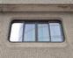 Politieschool; Glibertstraat 1, venster, 2020