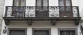 Rue de l'Harmonie 9, balcon du premier étage, 2017