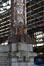 Rue Picard 7-9, Tour et Taxis, gare de marchandises, façade nord, base d'un pilier, (© ARCHistory / APEB, 2017)