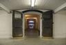 Avenue du Port 86c, Tour et Taxis, entrepôt B, sous-sol, entrées de locaux de stockage© (© ARCHistory / APEB, 2017)