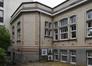 Place Arthur Van Gehuchten 4, hôpital Brugmann, médecine infantile, façade avant, pavillon gauche© (© ARCHistory / APEB, 2018)