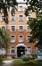 Place Arthur Van Gehuchten 4, hôpital Brugmann, home des infirmières, façade avant, partie centrale© (© ARCHistory / APEB, 2018)