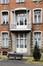 Place Arthur Van Gehuchten 4, hôpital Brugmann, home des infirmières, façade avant, entrée secondaire© (© ARCHistory / APEB, 2018)