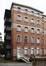 Place Arthur Van Gehuchten 4, hôpital Brugmann, home des infirmières, façade arrière, pavillon gauche© (© ARCHistory / APEB, 2018)