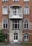 Place Arthur Van Gehuchten 4, hôpital Brugmann, home des infirmières, façade arrière, entrée secondaire© (© ARCHistory / APEB, 2018)