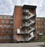 Place Arthur Van Gehuchten 4, hôpital Brugmann, home des infirmières, corps arrière© (© ARCHistory / APEB, 2018)