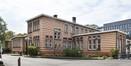 Place Arthur Van Gehuchten 4, hôpital Brugmann, cuisine centrale, façades latérale droite et arrière© (© ARCHistory / APEB, 2018)