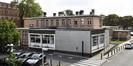 Place Arthur Van Gehuchten 4, hôpital Brugmann, cuisine centrale, façades arrière et latérale gauche© (© ARCHistory / APEB, 2018)