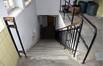 Place Arthur Van Gehuchten 4, hôpital Brugmann, cuisine centrale, façade droite, escalier du demi-sous-sol© (© ARCHistory / APEB, 2018)
