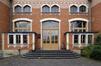 Arthur Van Gehuchtenplein 4, Brugmann ziekenhuis, mortuarium en kapel, voorgevel, inkom© (© ARCHistory / APEB, 2018)