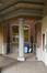 Arthur Van Gehuchtenplein 4, Brugmann ziekenhuis, mortuarium en kapel, achtergevel, inkom naar kleine binnenkoer rechts© (© ARCHistory / APEB, 2018)