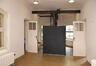 Arthur Van Gehuchtenplein 4, Brugmann ziekenhuis, kapel, benedenverdieping, voorbouw achteraan, lift voor lichamen© (© ARCHistory / APEB, 2018)